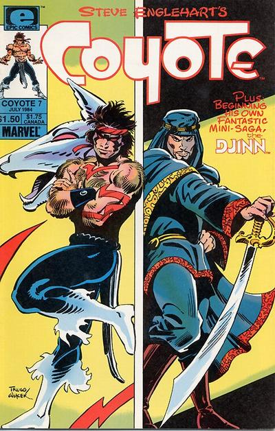Cover for Coyote (Marvel, 1983 series) #7