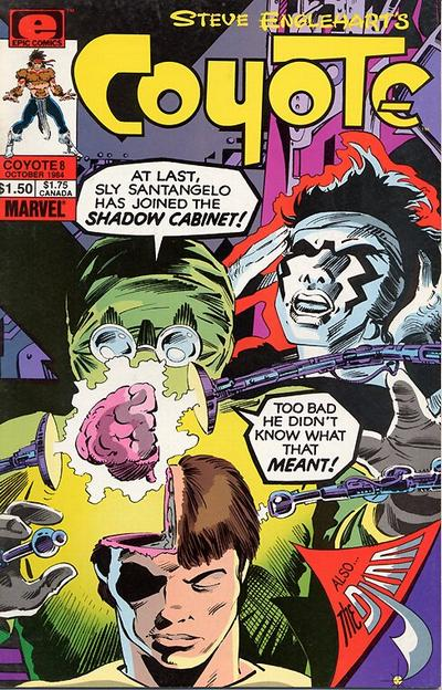 Cover for Coyote (Marvel, 1983 series) #8