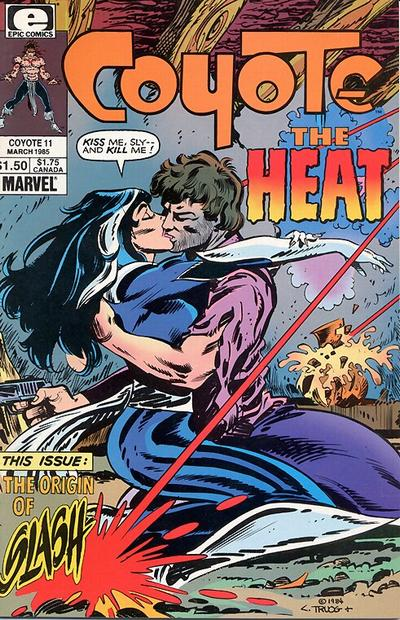 Cover for Coyote (Marvel, 1983 series) #11