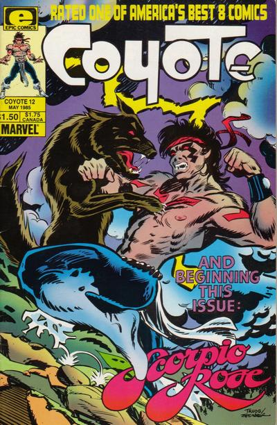 Cover for Coyote (Marvel, 1983 series) #12