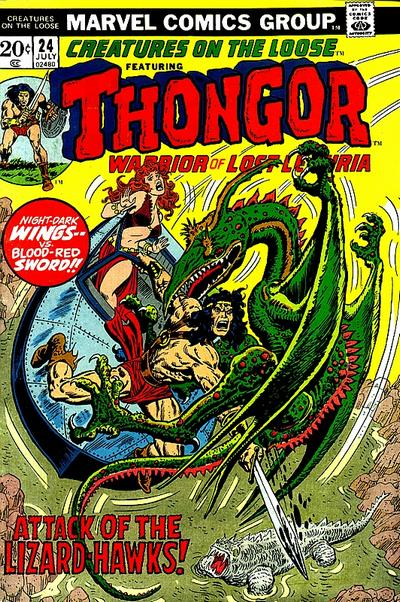 Cover for Creatures on the Loose (Marvel, 1971 series) #24