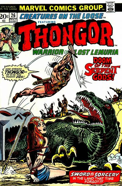 Cover for Creatures on the Loose (Marvel, 1971 series) #26