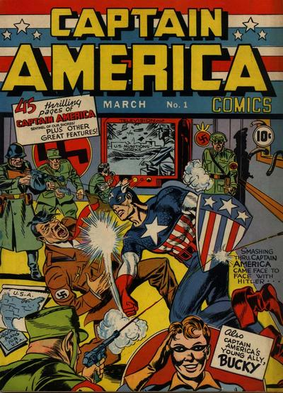 Cover for Captain America Comics (Marvel, 1941 series) #1