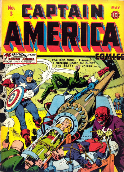 Cover for Captain America Comics (Marvel, 1941 series) #3