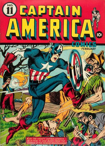 Cover for Captain America Comics (Marvel, 1941 series) #11