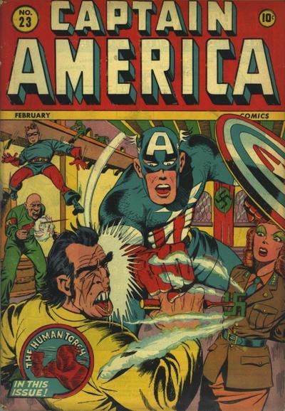 Cover for Captain America Comics (Marvel, 1941 series) #23