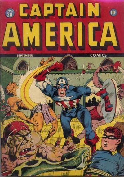 Cover for Captain America Comics (Marvel, 1941 series) #30