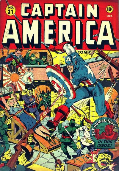 Cover for Captain America Comics (Marvel, 1941 series) #31