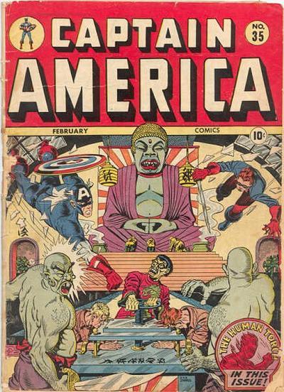 Cover for Captain America Comics (Marvel, 1941 series) #35