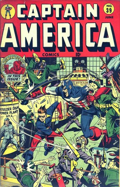Cover for Captain America Comics (Marvel, 1941 series) #39