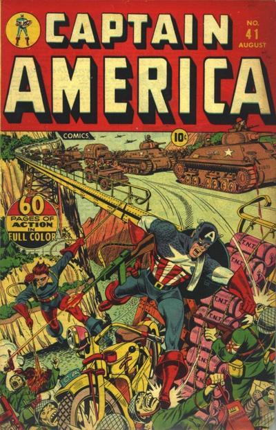 Cover for Captain America Comics (Marvel, 1941 series) #41