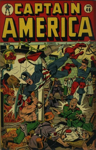 Cover for Captain America Comics (Marvel, 1941 series) #46