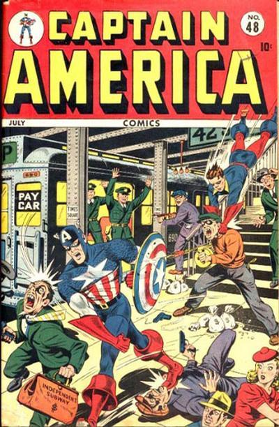 Cover for Captain America Comics (Marvel, 1941 series) #48