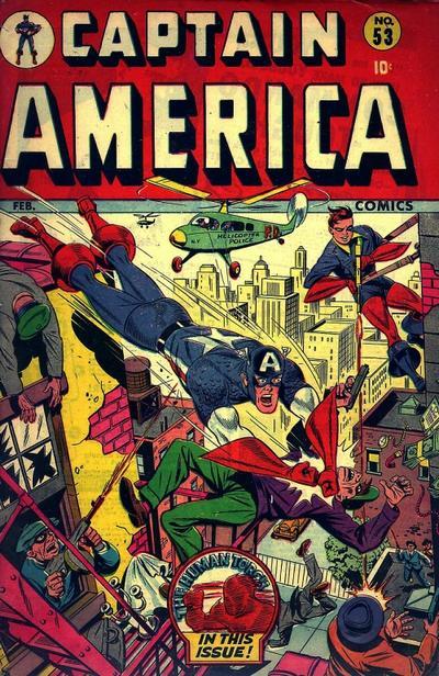 Cover for Captain America Comics (Marvel, 1941 series) #53