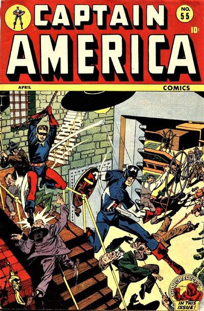 Cover for Captain America Comics (Marvel, 1941 series) #55