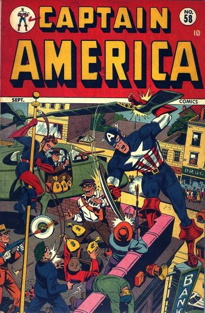 Cover for Captain America Comics (Marvel, 1941 series) #58
