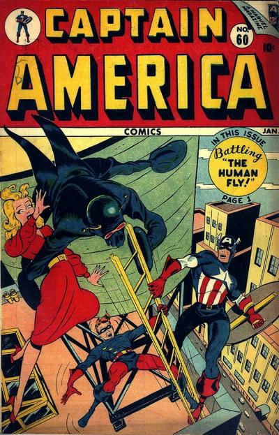 Cover for Captain America Comics (Marvel, 1941 series) #60