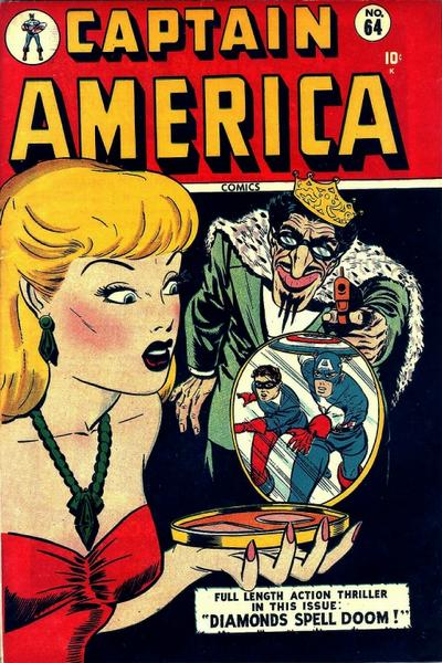 Cover for Captain America Comics (Marvel, 1941 series) #64