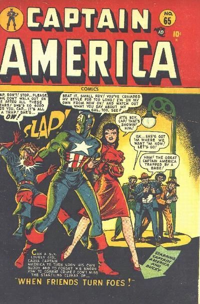 Cover for Captain America Comics (Marvel, 1941 series) #65