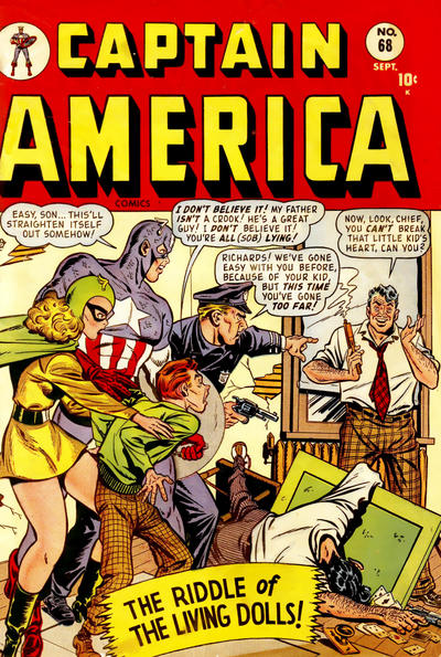 Cover for Captain America Comics (Marvel, 1941 series) #68