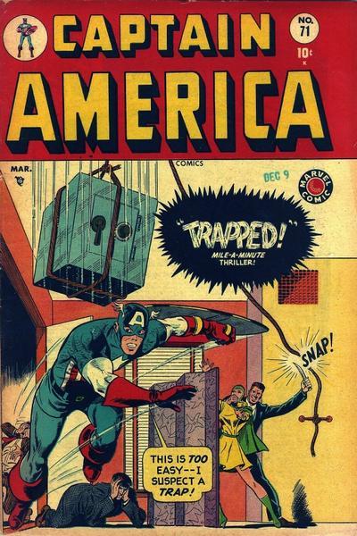 Cover for Captain America Comics (Marvel, 1941 series) #71