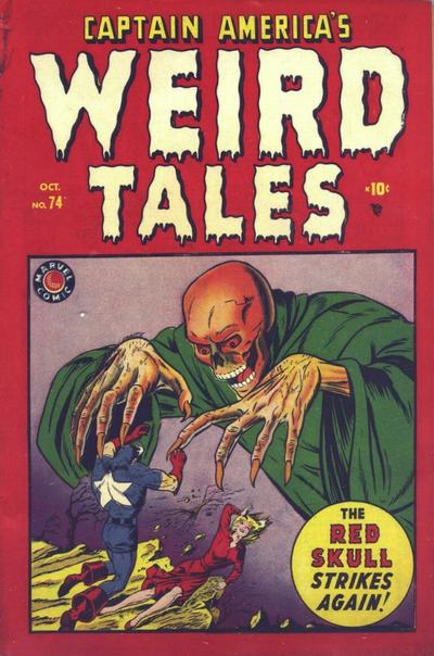 Cover for Captain America's Weird Tales (Marvel, 1949 series) #74