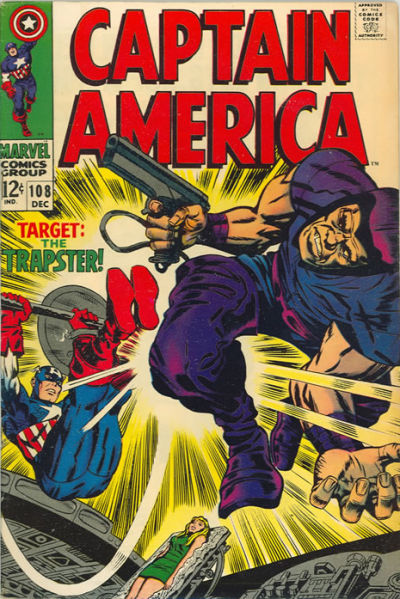 Cover for Captain America (Marvel, 1968 series) #108