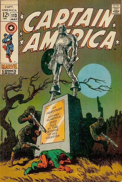 Cover for Captain America (Marvel, 1968 series) #113