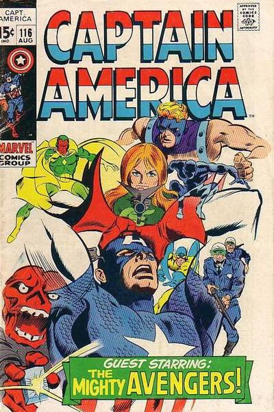 Cover for Captain America (Marvel, 1968 series) #116