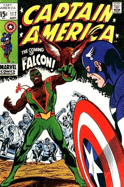 Cover for Captain America (Marvel, 1968 series) #117