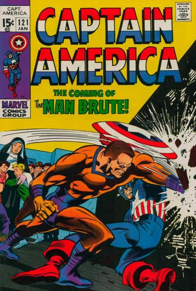 Cover for Captain America (Marvel, 1968 series) #121