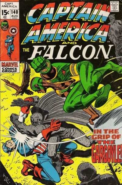Cover for Captain America (Marvel, 1968 series) #140