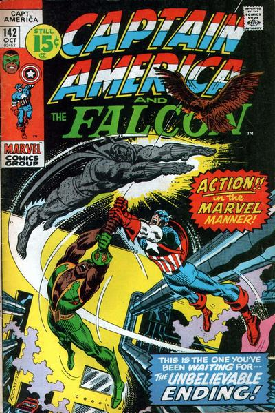 Cover for Captain America (Marvel, 1968 series) #142