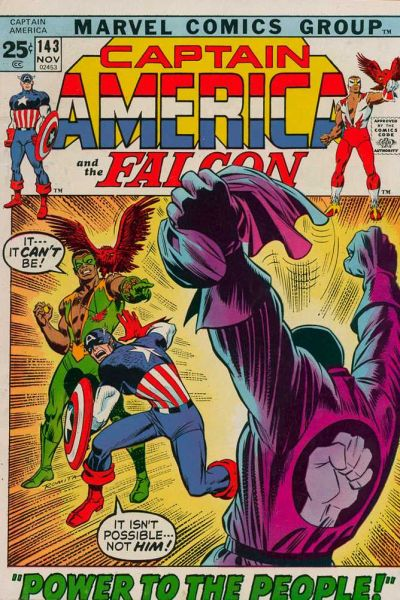 Cover for Captain America (Marvel, 1968 series) #143