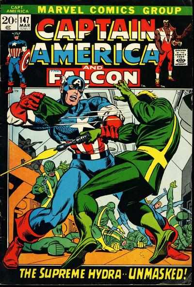 Cover for Captain America (Marvel, 1968 series) #147
