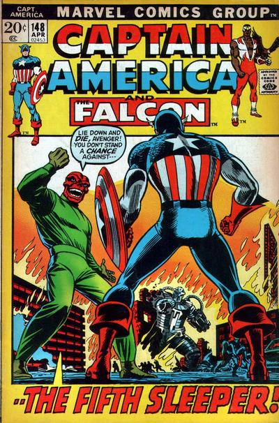 Cover for Captain America (Marvel, 1968 series) #148 [Regular Edition]