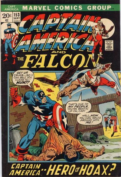 Cover for Captain America (Marvel, 1968 series) #153