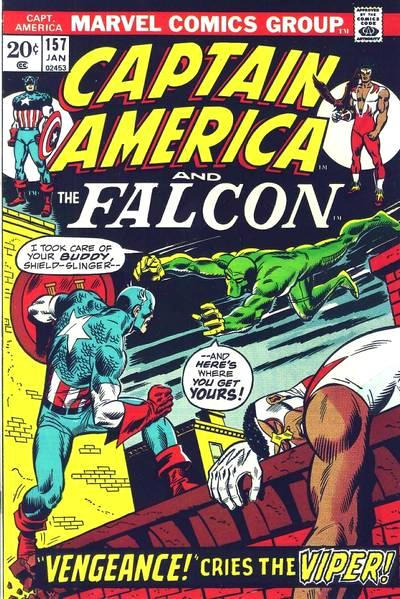 Cover for Captain America (Marvel, 1968 series) #157