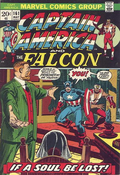 Cover for Captain America (Marvel, 1968 series) #161 [Regular Edition]