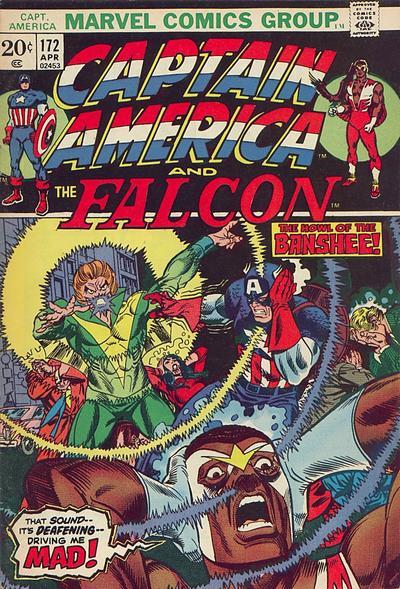 Cover for Captain America (Marvel, 1968 series) #172