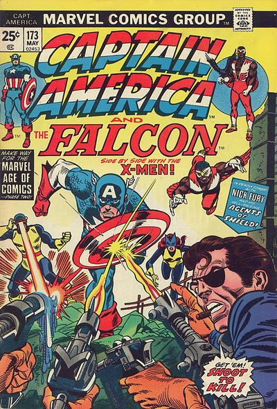 Cover for Captain America (Marvel, 1968 series) #173