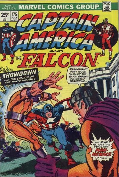 Cover for Captain America (Marvel, 1968 series) #175