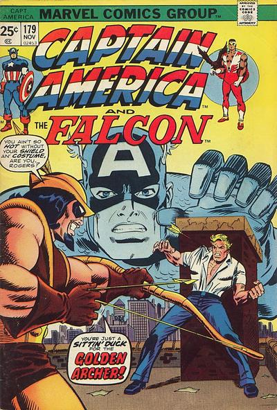 Cover for Captain America (Marvel, 1968 series) #179 [Regular Edition]