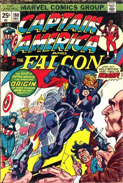 Cover for Captain America (Marvel, 1968 series) #180 [Regular Edition]
