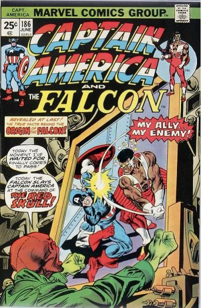 Cover for Captain America (Marvel, 1968 series) #186 [Regular Edition]