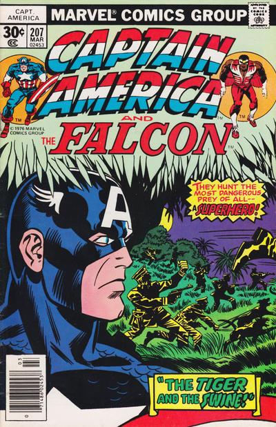 Cover for Captain America (Marvel, 1968 series) #207 [Regular Edition]