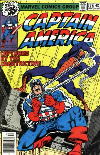 Cover for Captain America (Marvel, 1968 series) #228 [Regular Edition]