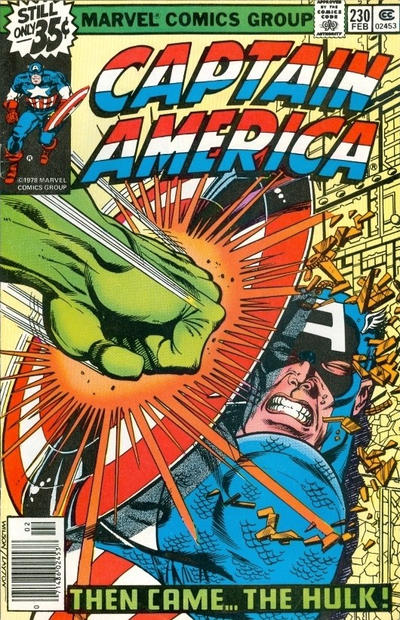 Cover for Captain America (Marvel, 1968 series) #230 [Regular Edition]
