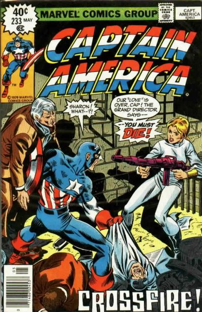 Cover for Captain America (Marvel, 1968 series) #233 [Regular Edition]