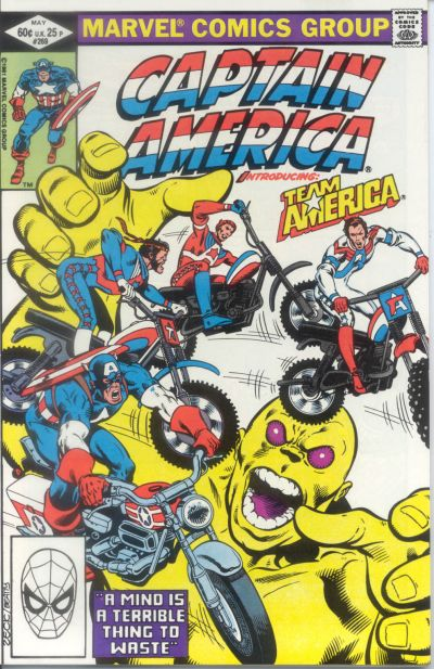 Cover for Captain America (Marvel, 1968 series) #269 [Newsstand]